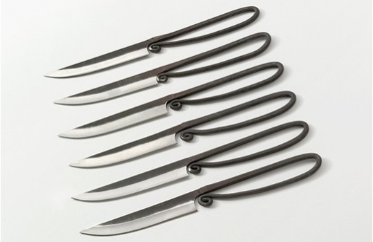 Medieval table knives