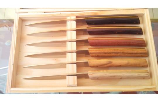Atelier de Couteaux - coffret mixte