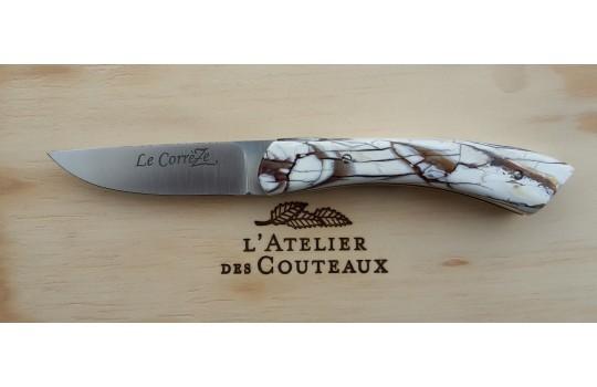 Das Messer CorrèZe - Die 20 – mit Molaren vom Mammut